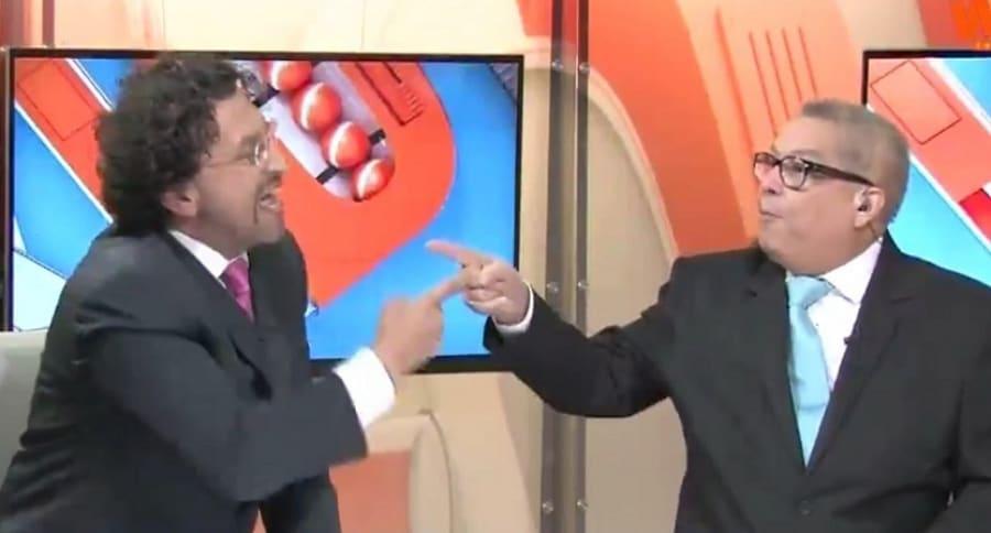 Gabriel Meluk y Hugo Illera