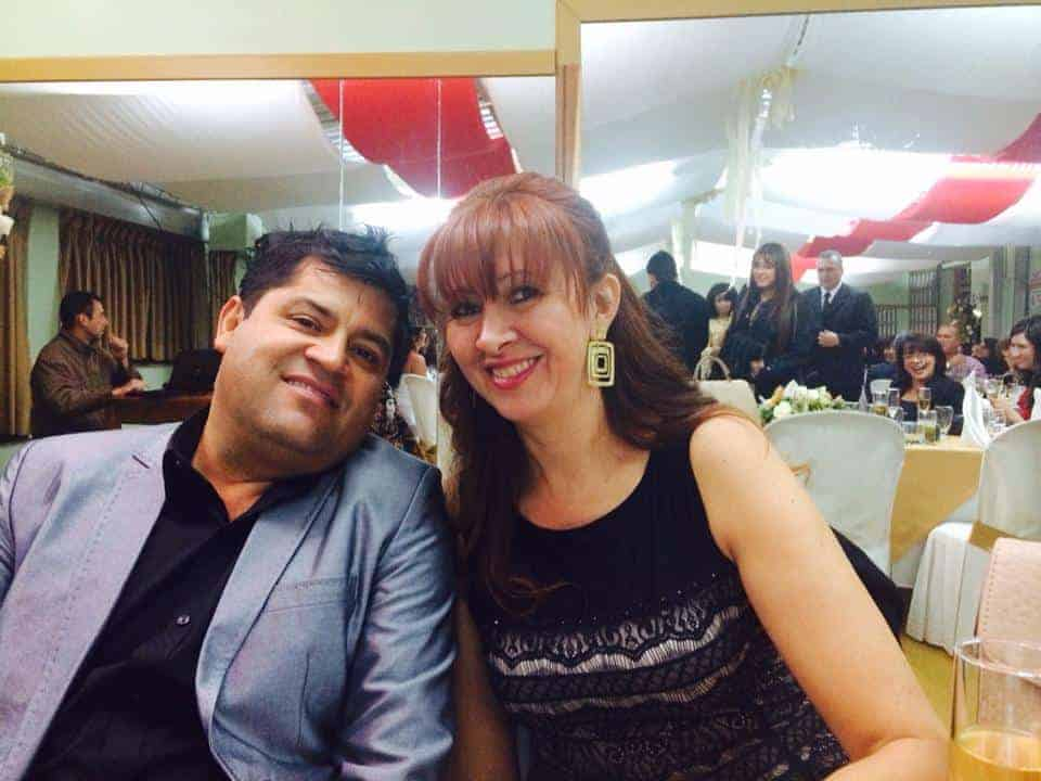 Alonso Orjuela Pardo, dueño de Surtifruver, y su esposa Bertha Cecilia Rueda Bossa