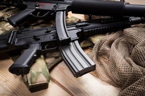 Armas de fuego estarán exentas de IVA (ilustración)
