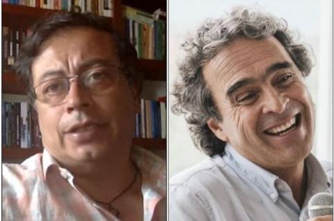 Gustavo Petro y Sergio Fajardo
