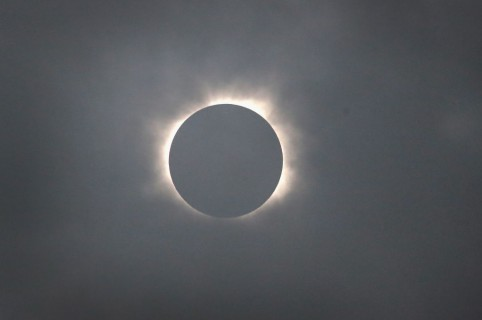 Eclipse solar. Pulzo.