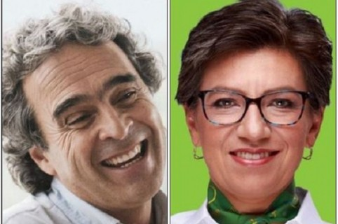 Sergio Fajardo, Claudia López y Jorge Robledo