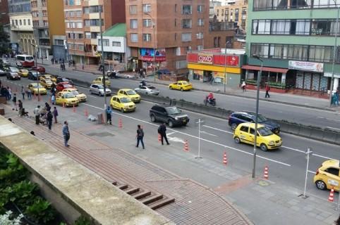 Calle de Bogotá