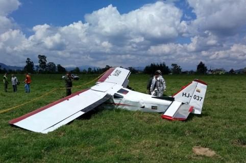 Esta fue la aeronave accidentada en Guaymaral