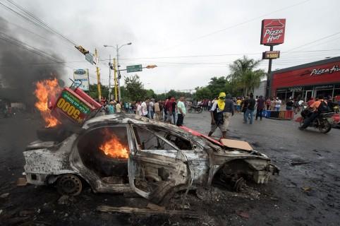 Tensión por hechos violentos en Honduras