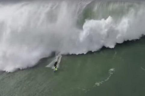Rescate de surfista