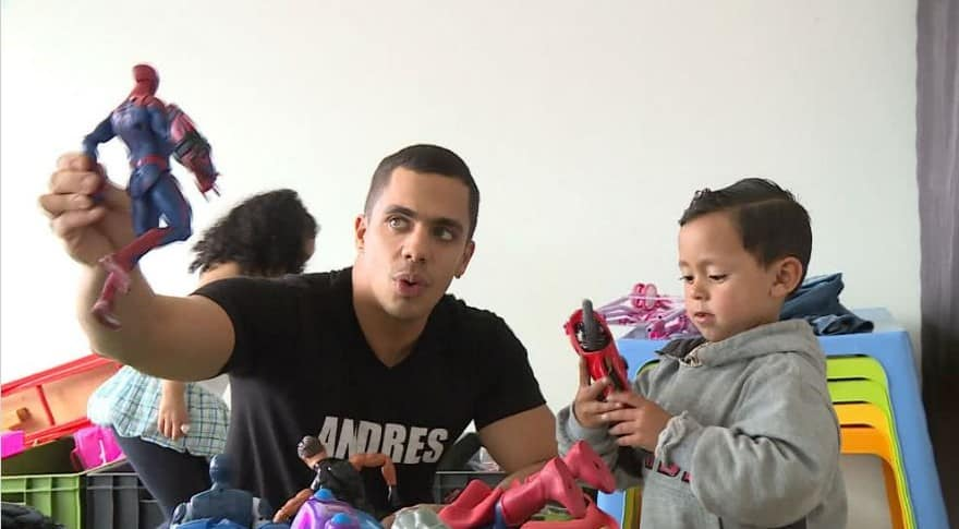 Participante Andrés, de Protagonistas