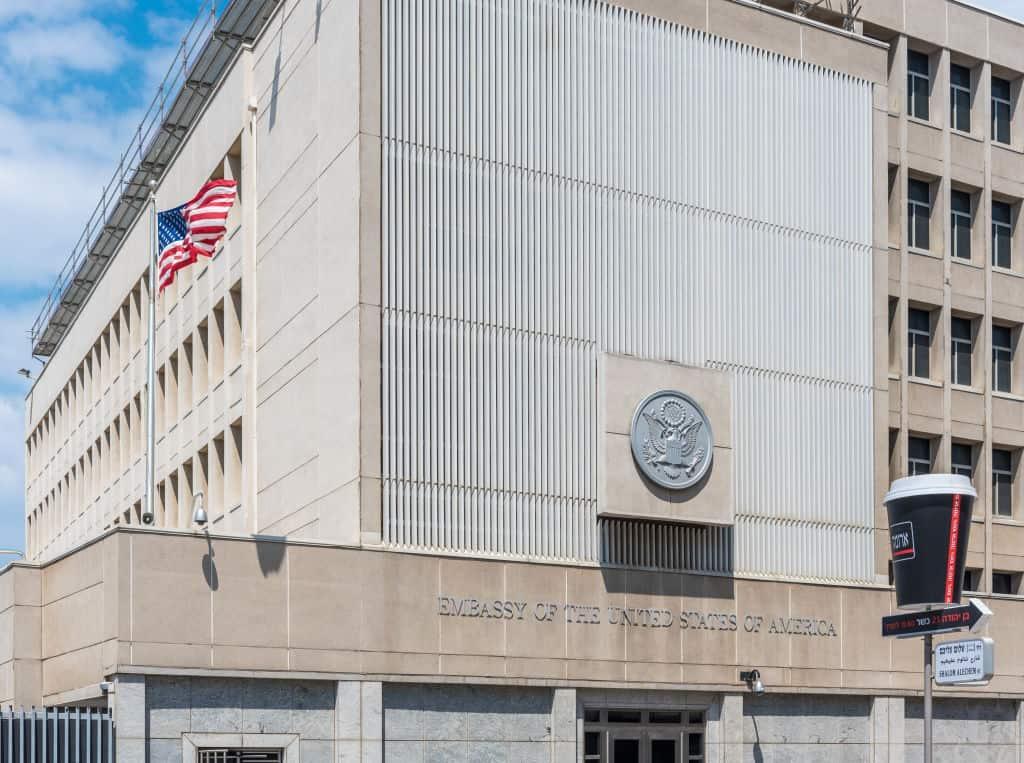Embajada de Estados Unidos en Israel