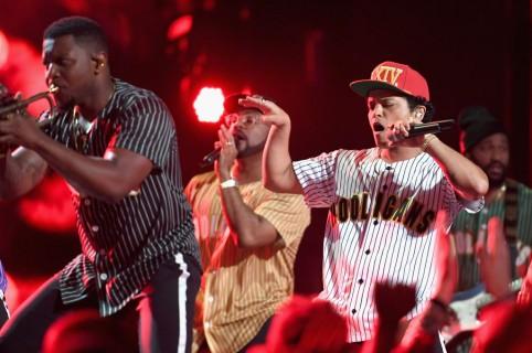 Bruno Mars, en concierto (archivo)