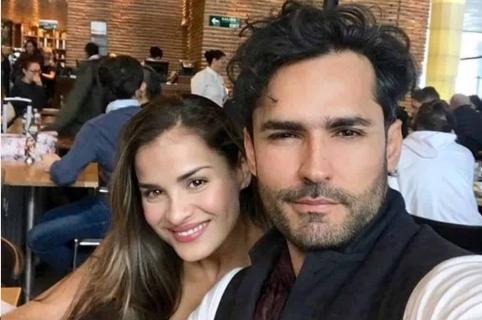Yuly Ferreira y Fabián Ríos, esposos y actores.