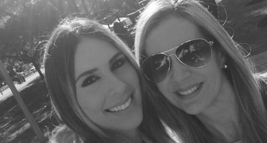 Carolina Soto y su mamá  Jacky El-Khoury