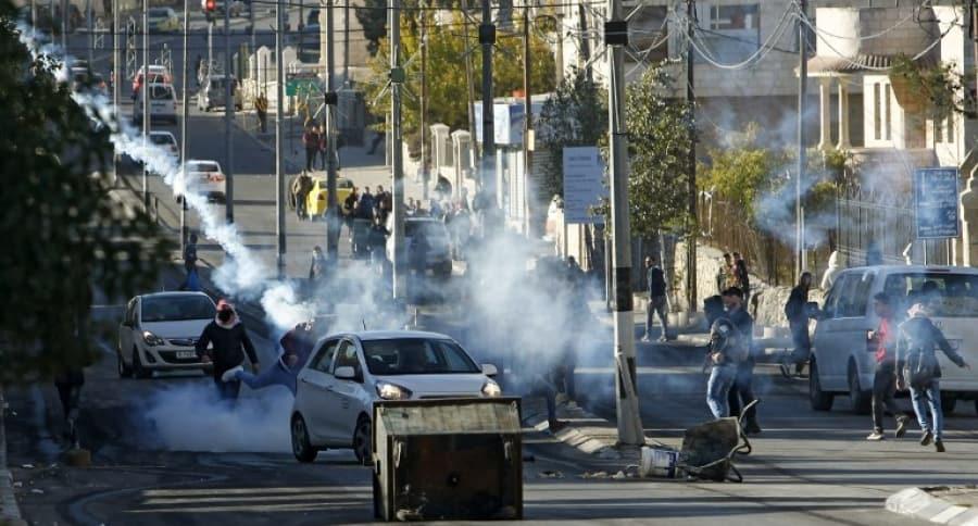 Violencia en Israel
