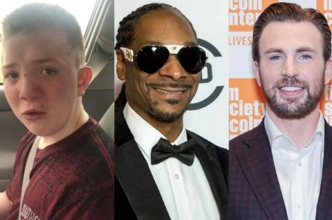 Kean Keaton, Snoop Dogg y Chris Evans
