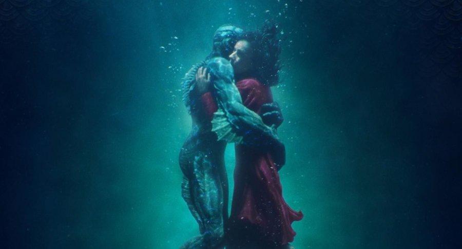 Afiche película 'La forma del agua' ('Shape of water'