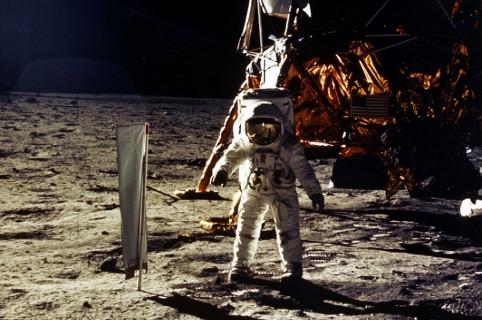 Misión del Apollo 11 en la Luna, en 1969