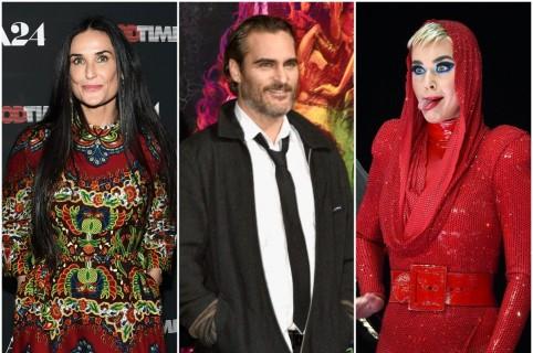Demi Moore / Joaquin Phoenix / Katy Perry