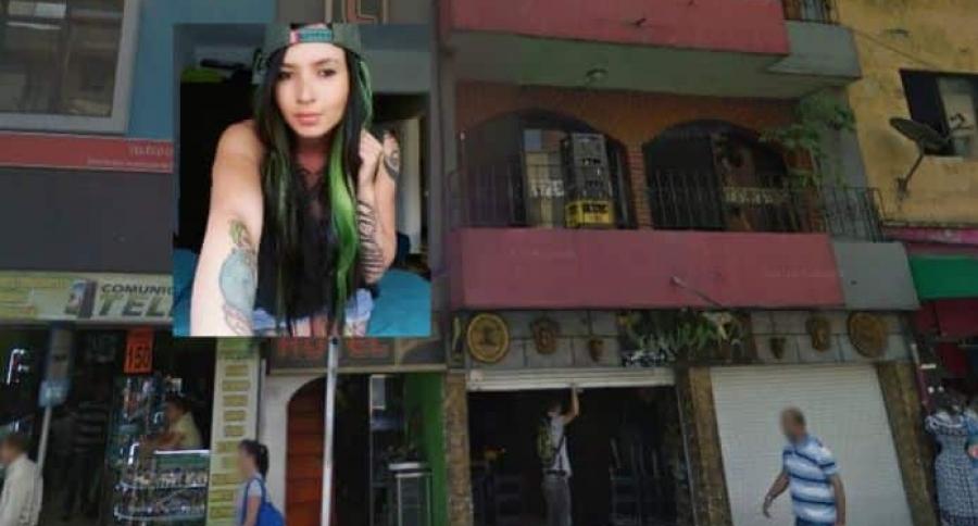 Joven muerta en Medellín