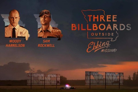 Afiche 'Tres anuncios por un crimen'