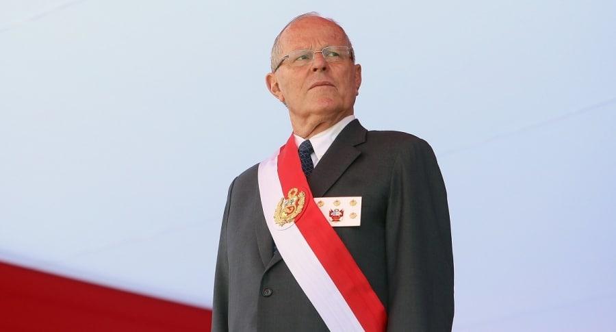 """Kuczynski afirma que existe una """"situación política muy fracturada"""" en Perú"""