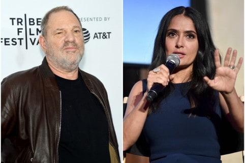Harvey Weinstein / Salma Hayek