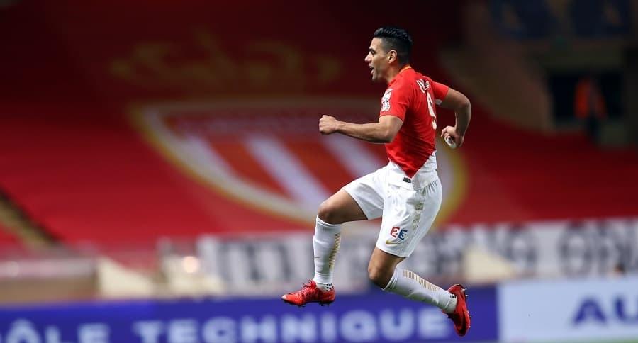 Falcao García celebrando un gol