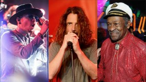 Chester Bennington, Chris Cornell y Chuck Berry