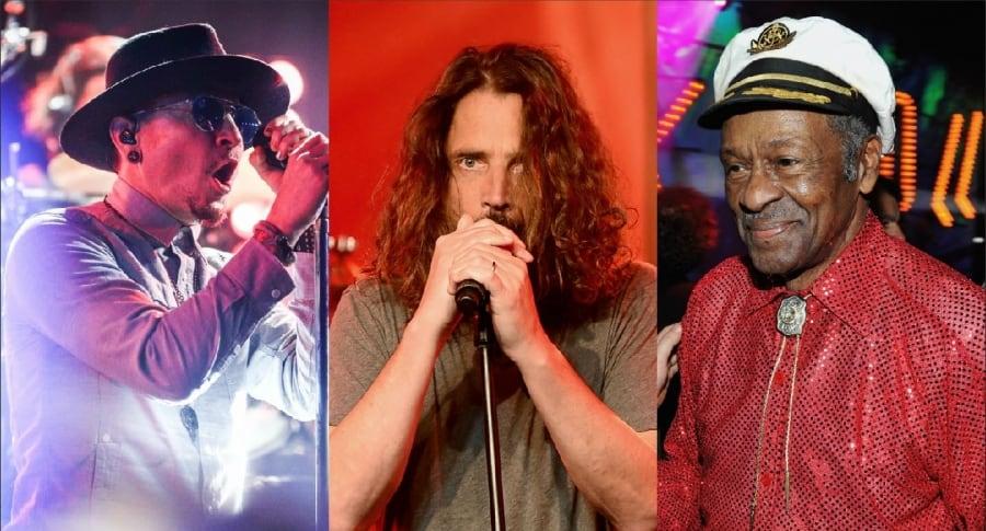 Chester Bennington, Chris Cornell y Chuck Berry