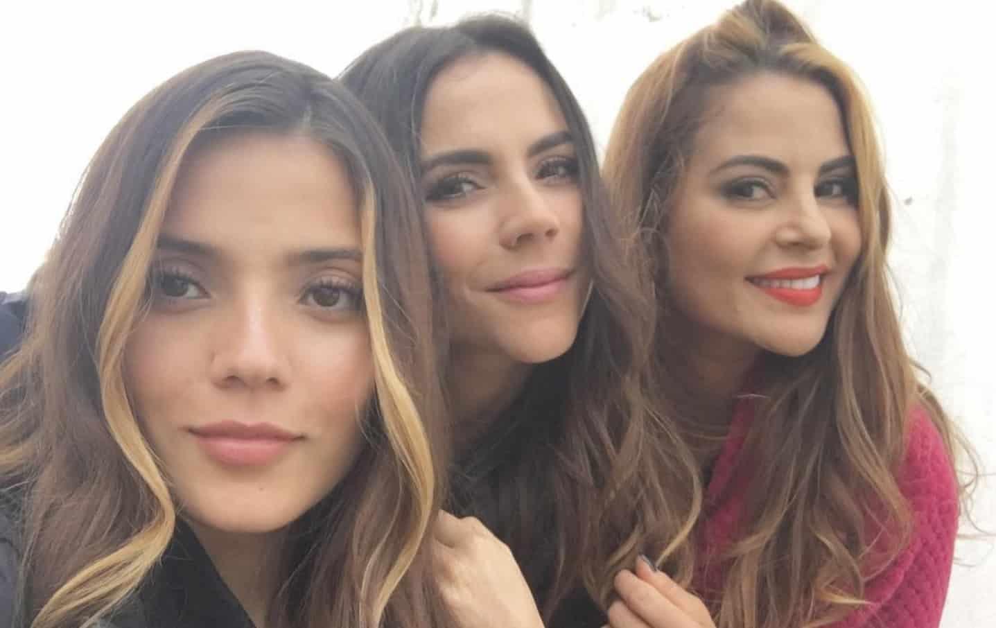 Jennifer Arenas, Carolina Gaitán y Estefanía Gómez, actrices.