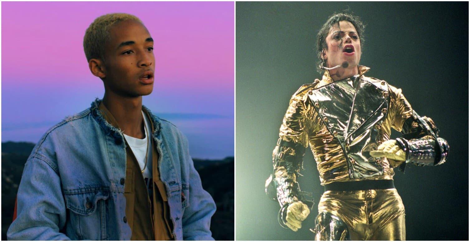 Jaden Smith y Michael Jackson. Pulzo.