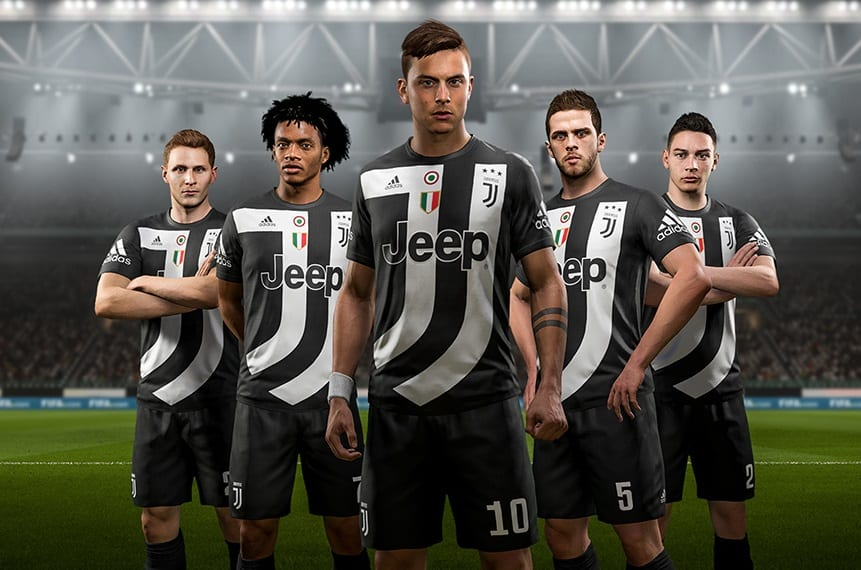 Cuarto uniforme Juventus FIFA 18