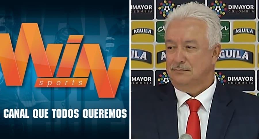 Win Sports y Jorge Perdomo