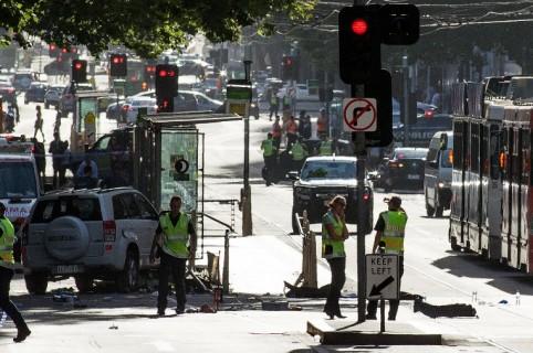 Atropellamiento en Melbourne
