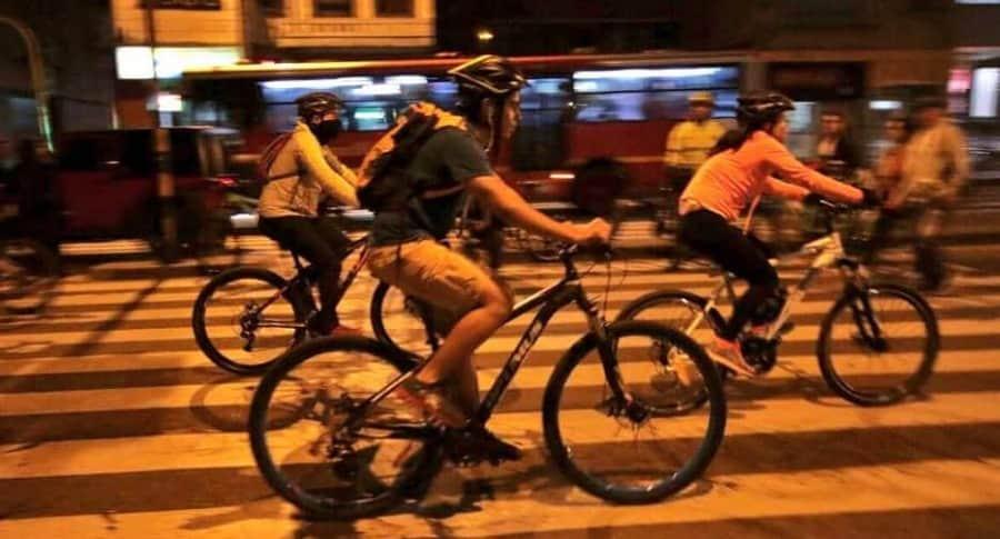 Ciclovía Bogotá