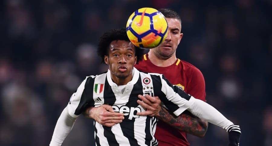 Cuadrado, Juventus vs. Roma
