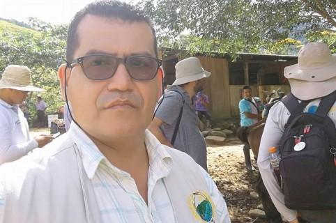 Fredy Chavarro, personero del municipio de Puerto Rico en Caquetá