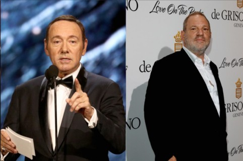 Andy Dick, Kevin Spacey y Harvey Weinstein