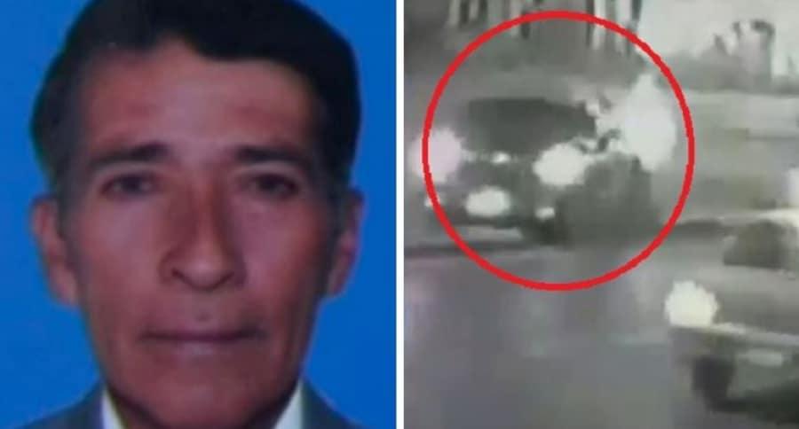 Layureano Velandia, obrero muerto por el atropellamiento