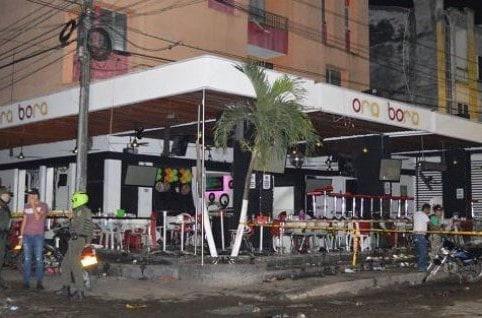 Explosión en discoteca en Caucasia