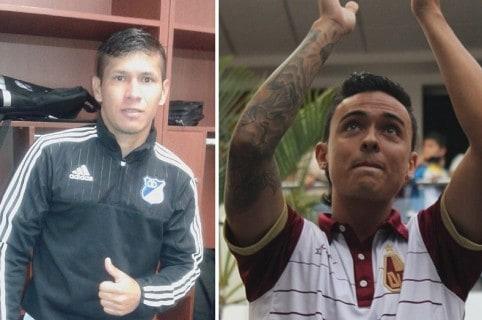 Rafael Carrascal y Santiago Montoya