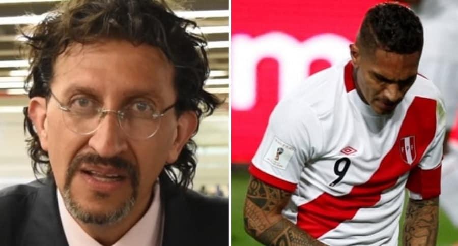 Gabriel Meluk y Paolo Guerrero