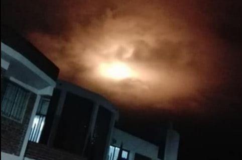 Fenómeno luminoso registrado en Ocaña, Norte de Santander