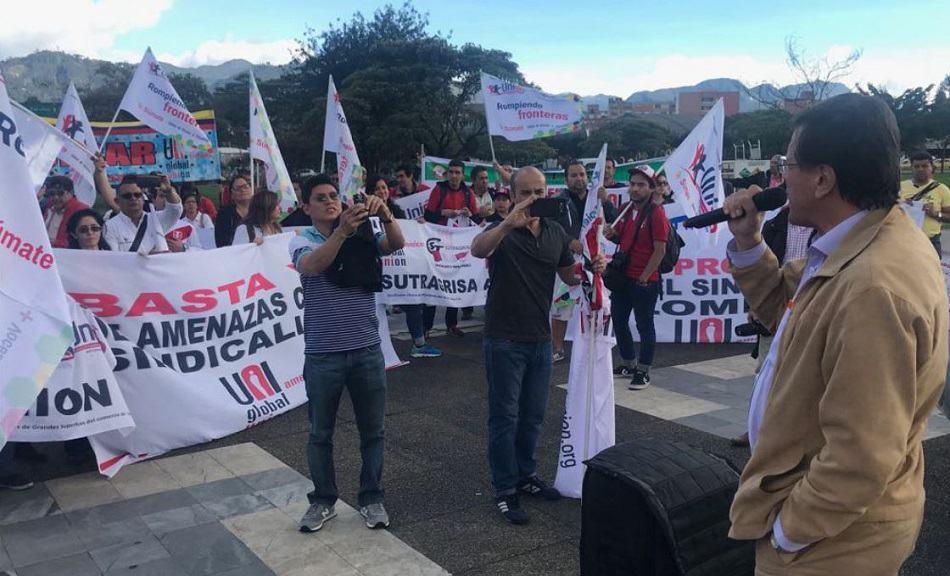 Paro obrero en Colombia