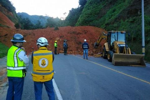 Deslizamiento en Antioquia