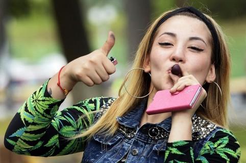 Consumo de marihuana recreativa en Estados Unidos.