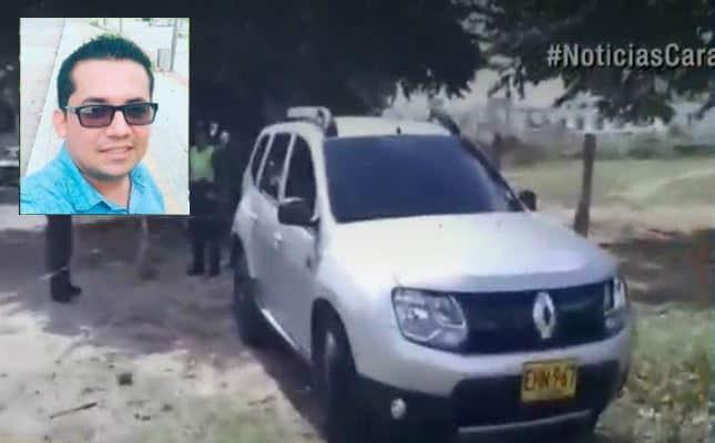 Camioneta del funcionario asesinado