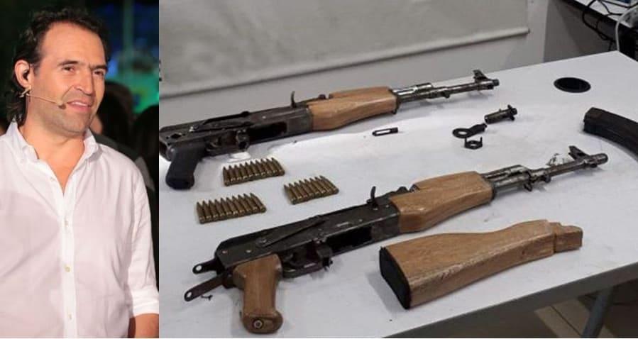 Federico Gutiérrez y AK-47