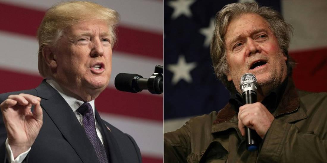 Trump y Bannon