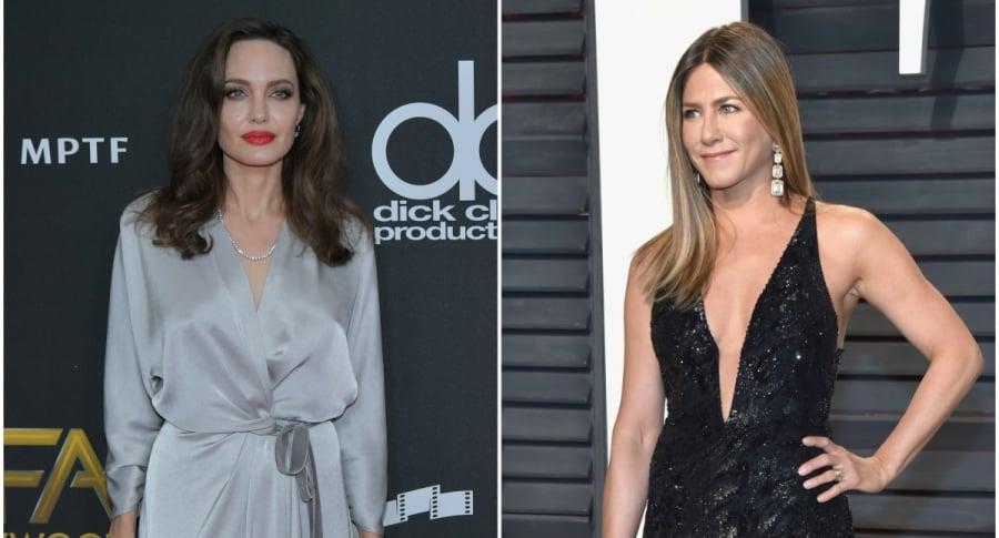 Angenila Jolie / Jennifer Aniston