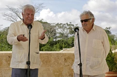 Santos valora avances en la implementación del acuerdo de paz en Colombia