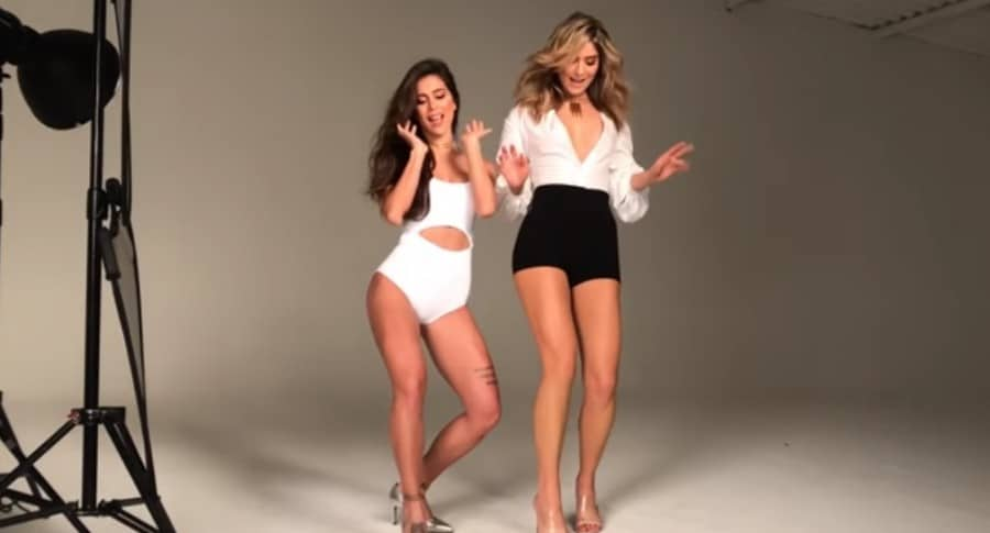 Greeicy Rendón, cantante y actriz, y Laura Tobón, modelo.
